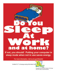Do You Sleep at Work and at Home?