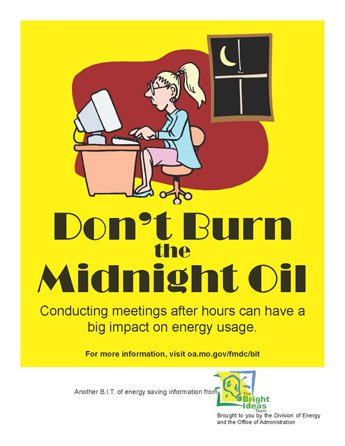 Don't Burn the Midnight Oil