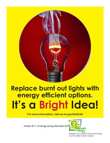 It's a Bright Idea Poster