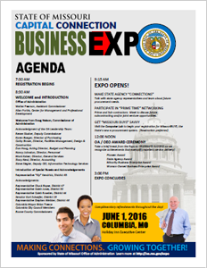 Capital Connection Business Expo Agenda