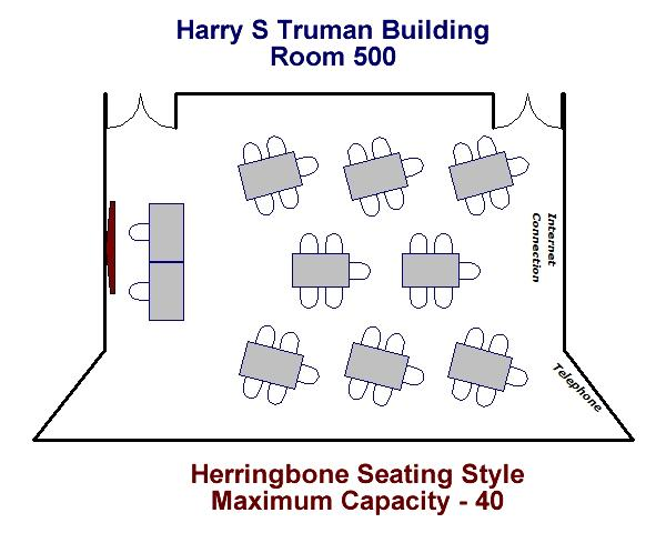 Harry S Truman Building Room 500