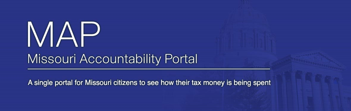 Missouri Accountability Portal (MAP) - A single portal for Missouri citizens to see how their money is being spent.