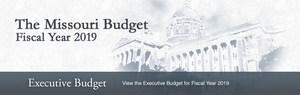 The Missouri Budget for the 2019 Fiscal Year