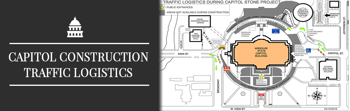 Capitol Construction Traffic Logistics