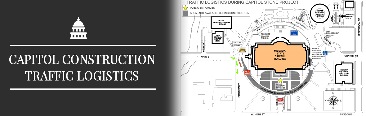 Traffic Logistics Capitol Stone Project Slide