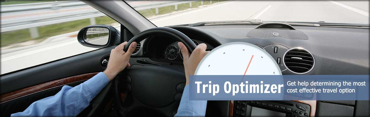 Trip Optimizer - Get help determining the most cost effective travel option