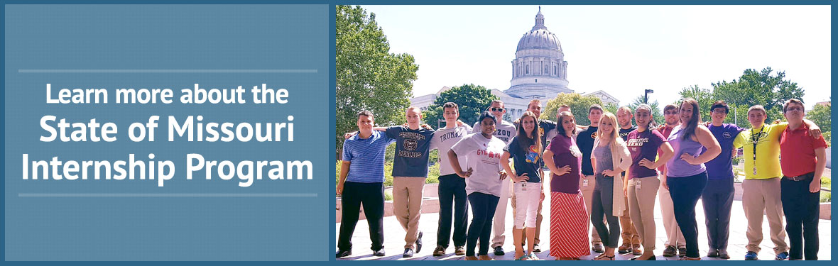 Learn more about the State of Missouri Internship Program