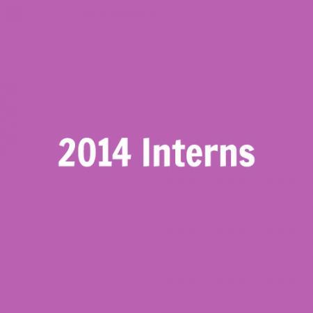 2014 Interns