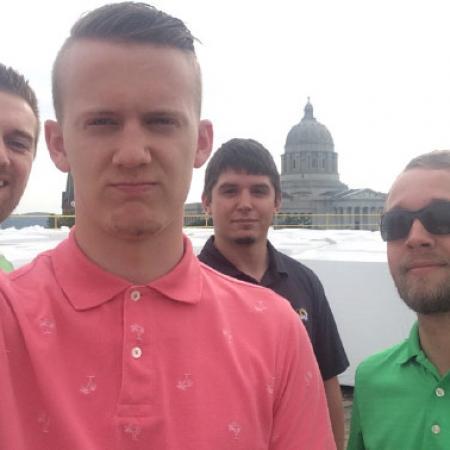 Interns Ryan Abbott, Timothy Struemph, Jared Cook & Joshua Bax
