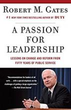 A Passion for Leadership book cover