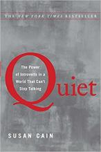Quiet: The Power of Introverts in a World That Can't Stop Talking Book Cover